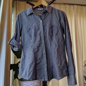 Converse One Star Chambray button down shirt